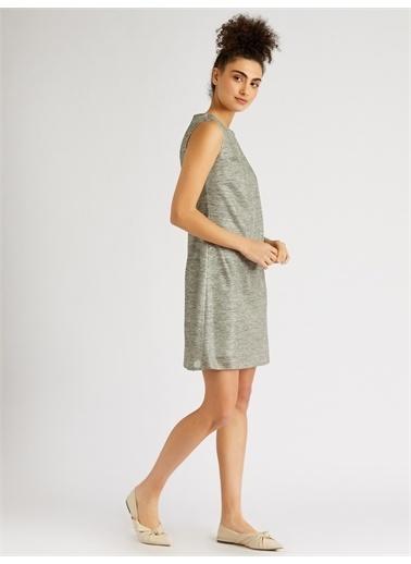 Vekem-Limited Edition Elbise Gri